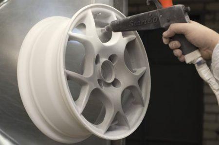 Оборудование для порошковой покраски авто дисков